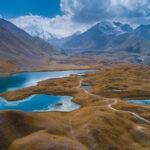 Прекрасная природа Киргизии с высоты птичьего полета