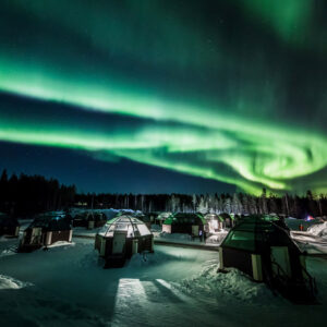 Северное сияние. Фото с разных мест