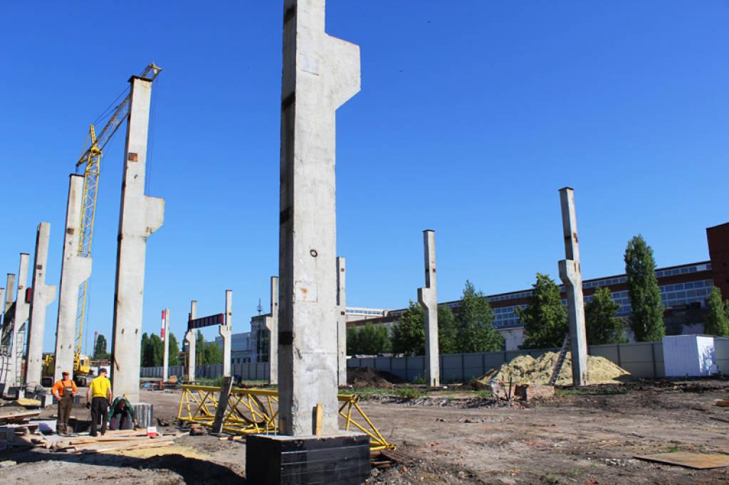 Экономичный дизайн железобетонных колонн для снижения затрат
