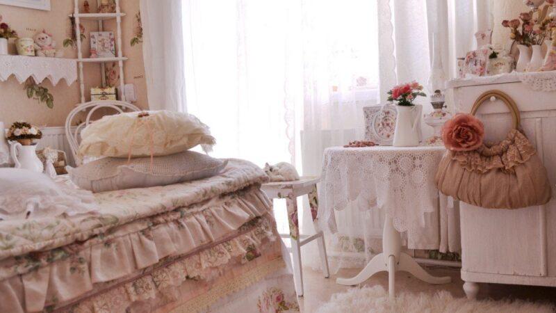 Как украсить спальню в винтажном стиле?