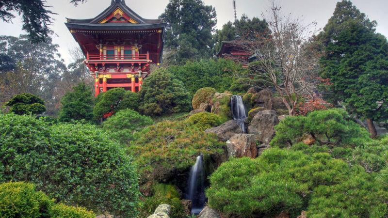 Японские сады — 39 фото
