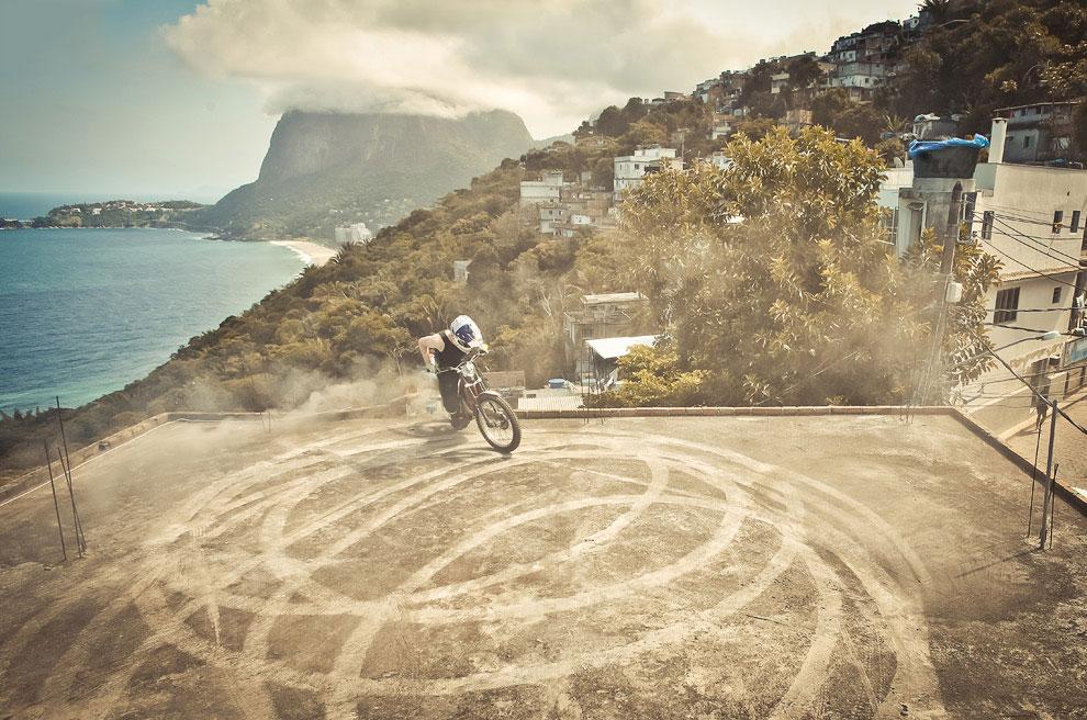 Мототриал — опасный вид спорта